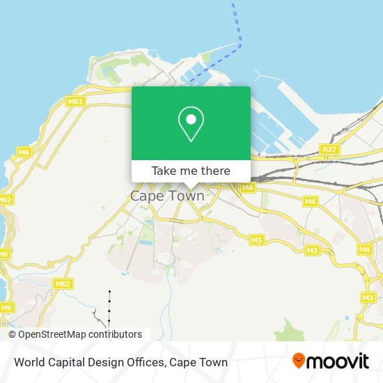World Capital Design Offices map