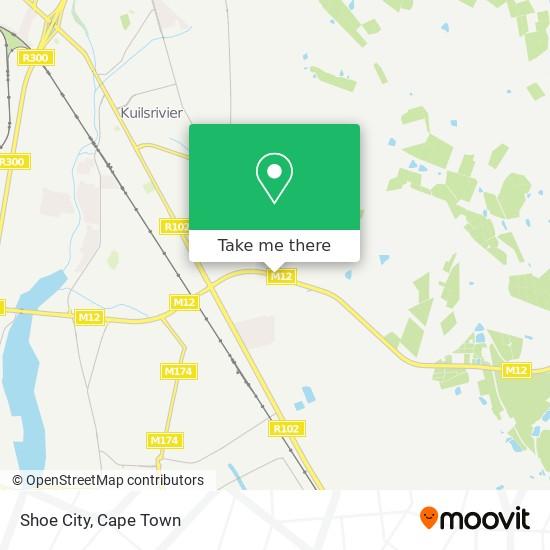Shoe City map