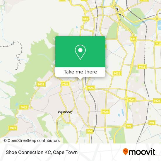 Shoe Connection KC map
