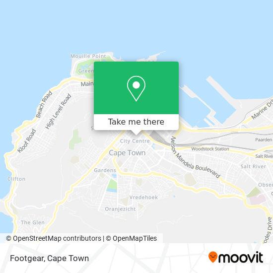 Footgear map
