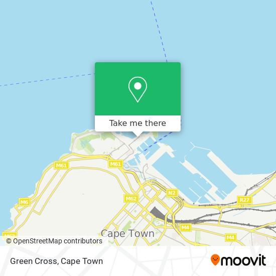 Green Cross map