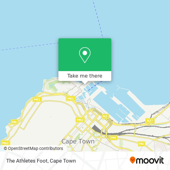 The Athletes Foot map