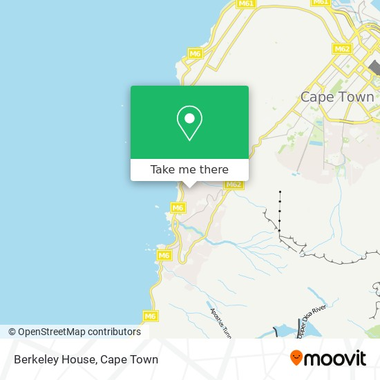Berkeley House map