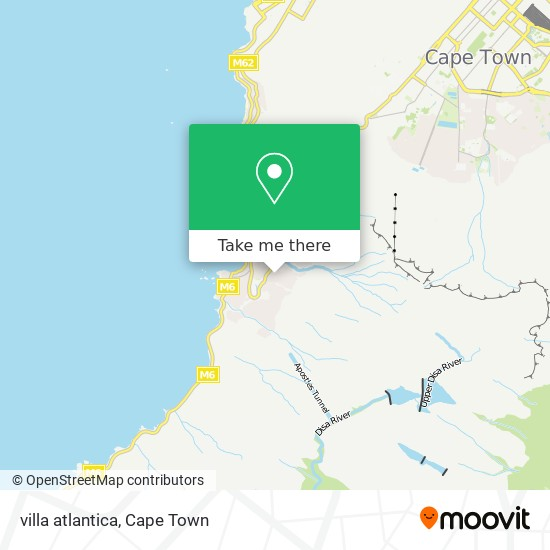 villa atlantica map