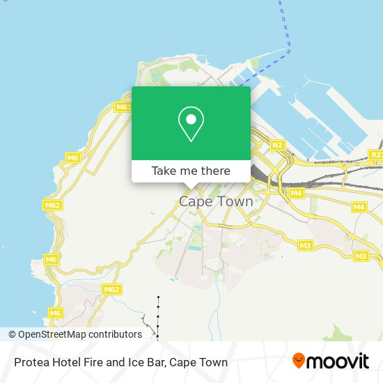 Protea Hotel Fire and Ice Bar map