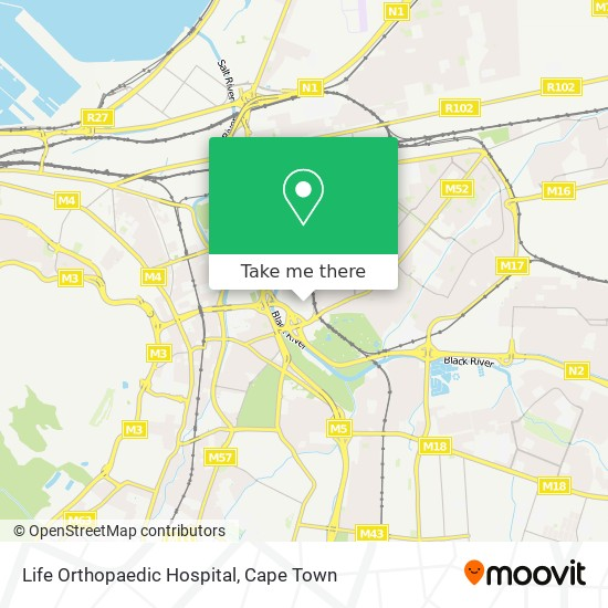 Life Orthopaedic Hospital map