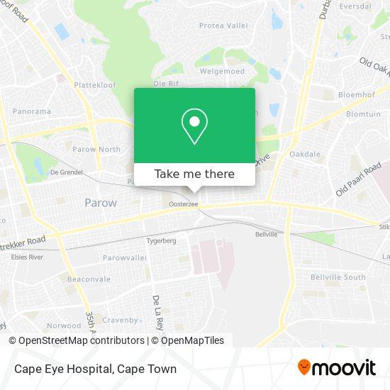 Cape Eye Hospital map