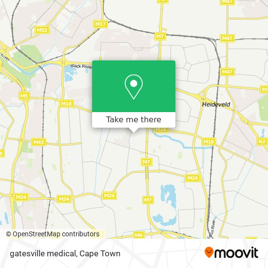 gatesville medical map