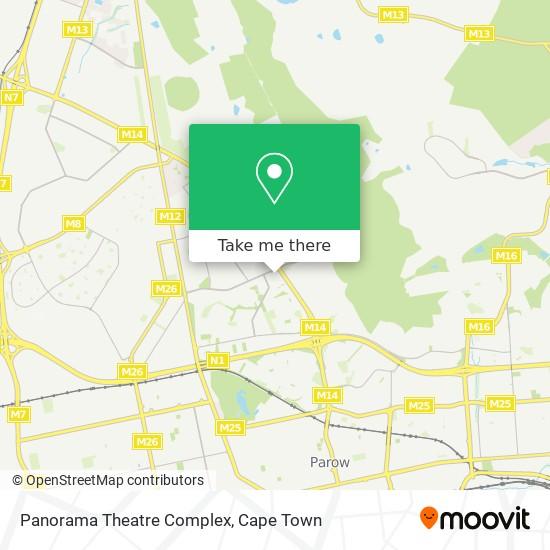 Panorama Theatre Complex map