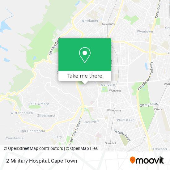 2 Military Hospital map