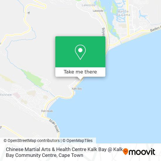 Chinese Martial Arts & Health Centre Kalk Bay  @ Kalk Bay Community Centre map