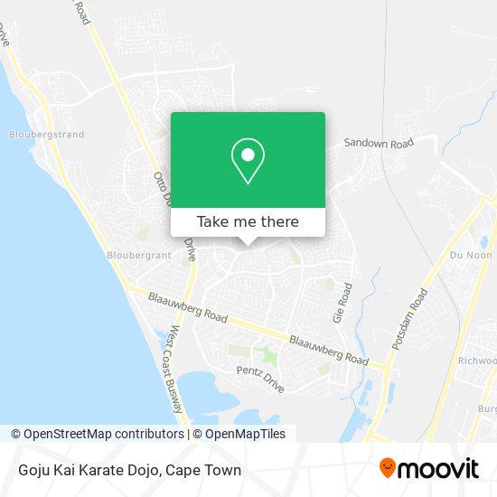Goju Kai Karate Dojo map