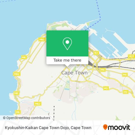 Kyokushin-Kaikan Cape Town Dojo map