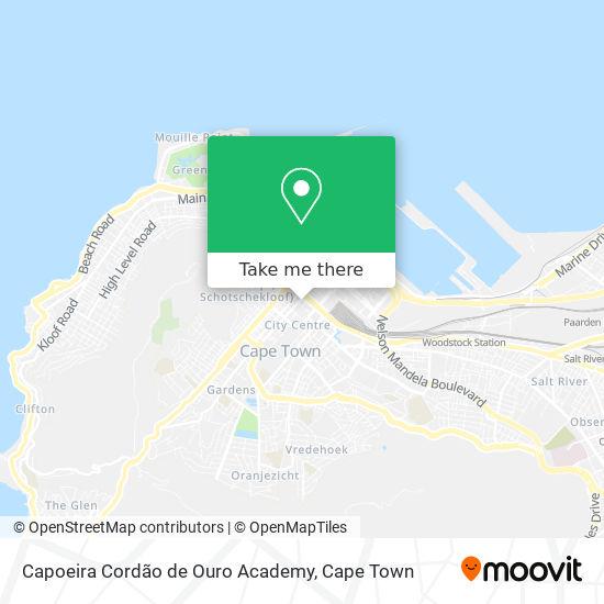 Capoeira Cordão de Ouro Academy map