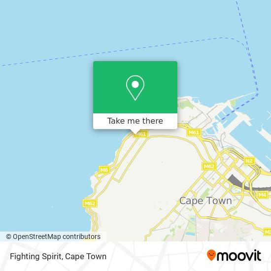 Fighting Spirit map