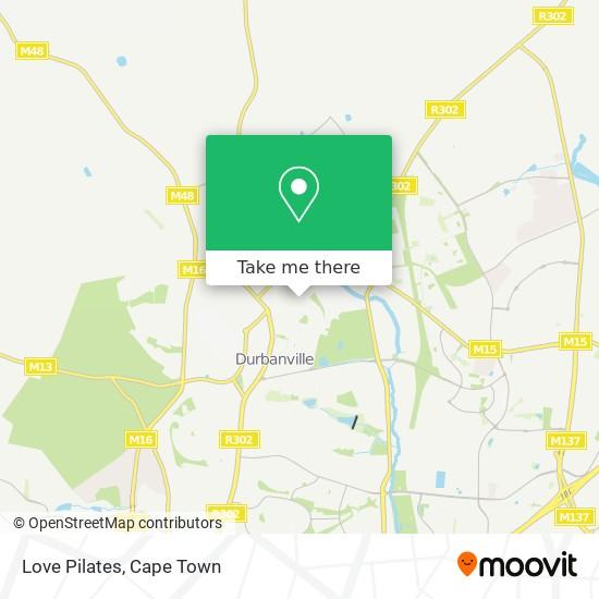 Love Pilates map