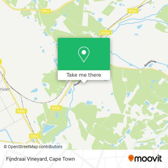 Fijndraai Vineyard map