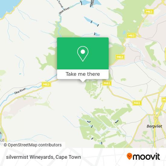 silvermist Wineyards map
