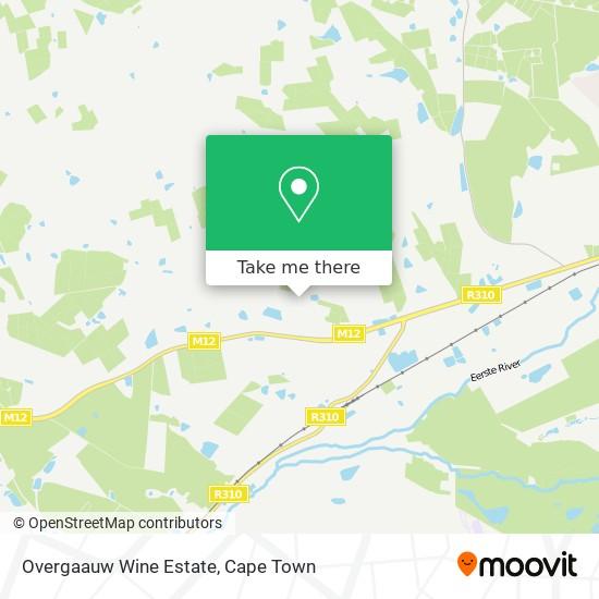 Overgaauw Wine Estate map