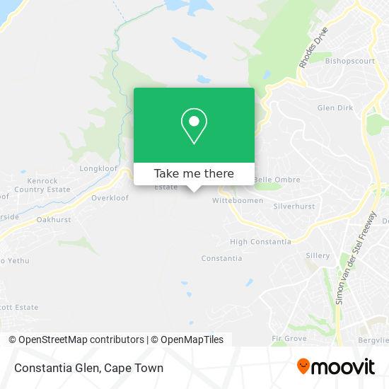 Constantia Glen map