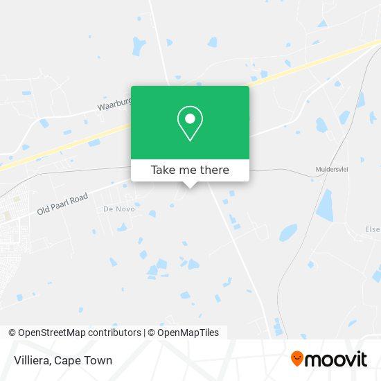 Villiera map