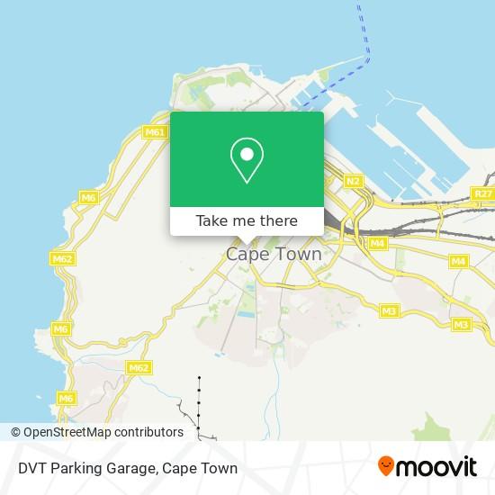 DVT Parking Garage map