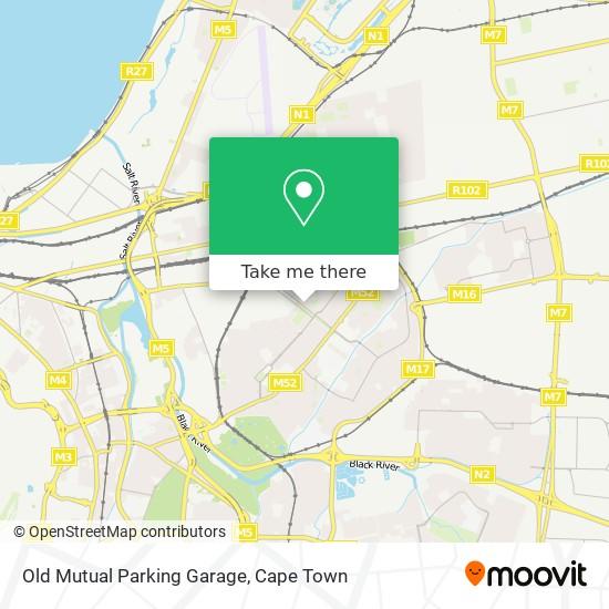 Old Mutual Parking Garage map