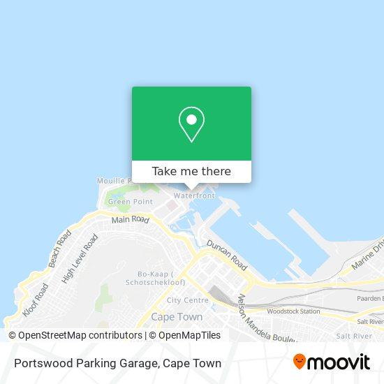 Portswood Parking Garage map