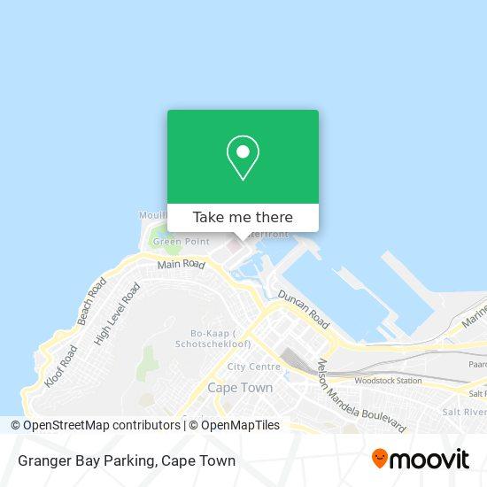 Granger Bay Parking map