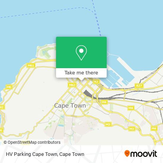 HV  Parking Cape Town map