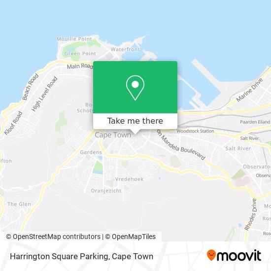 Harrington Square Parking map