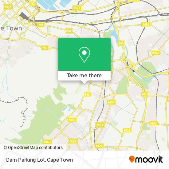 Dam Parking Lot map