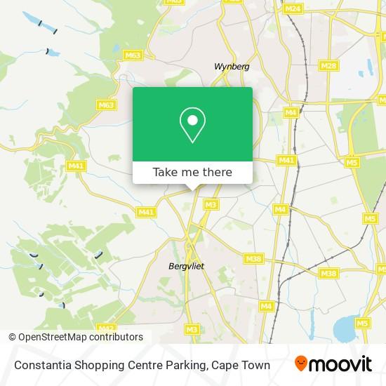 Constantia Shopping Centre Parking map