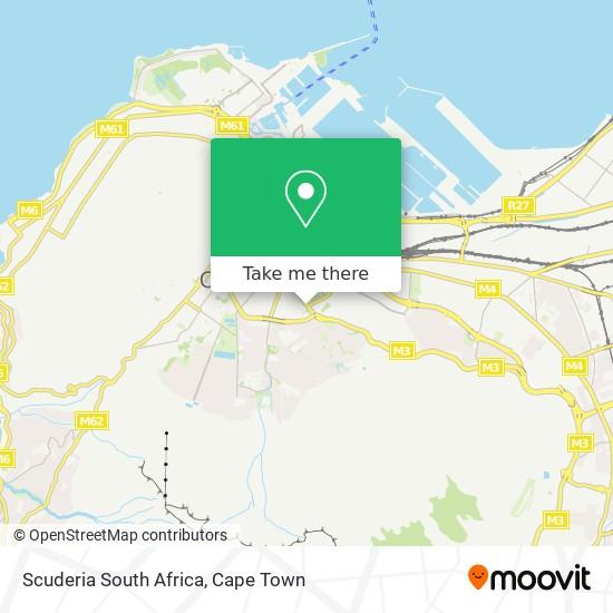 Scuderia South Africa map