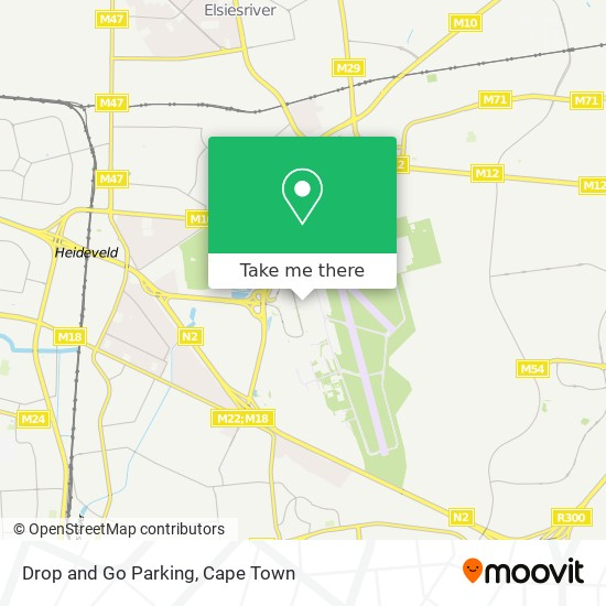 Drop and Go Parking map