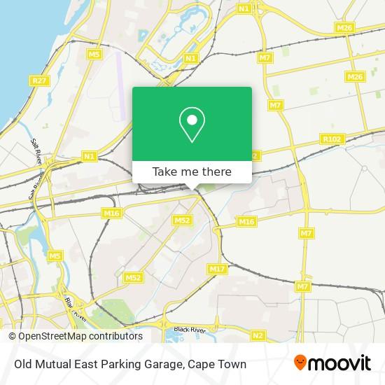 Old Mutual East Parking Garage map
