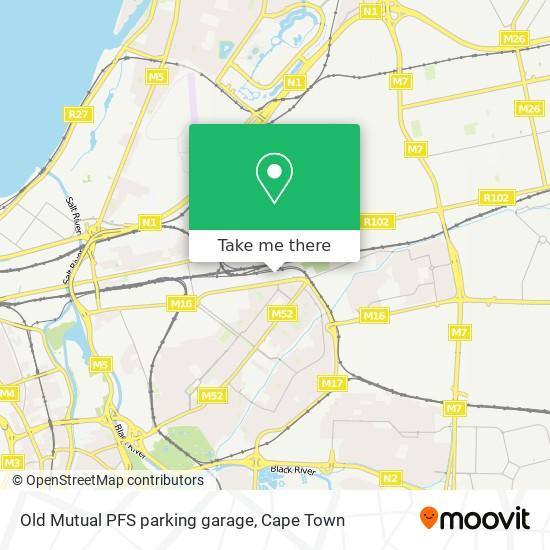 Old Mutual PFS parking garage map