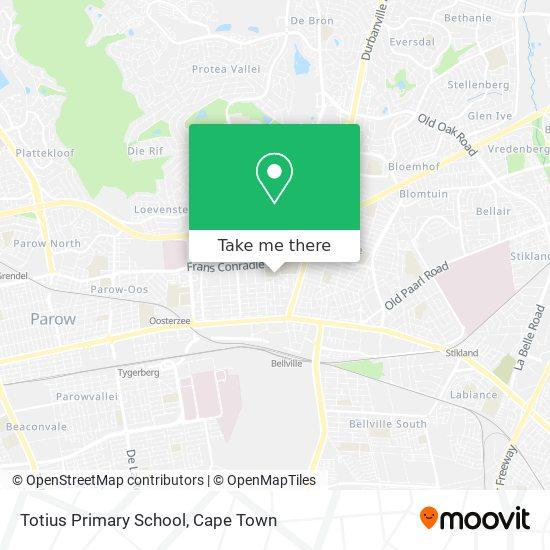 Totius Primary School map