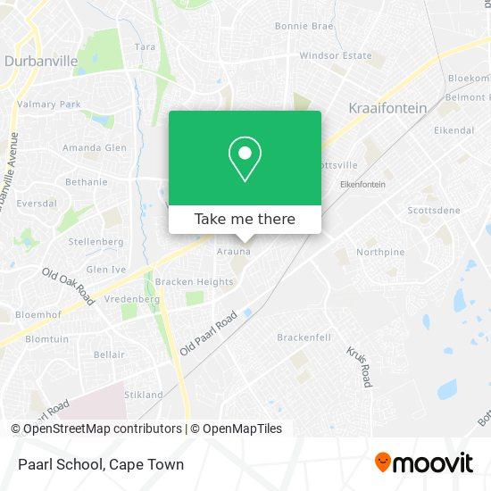 Paarl School map