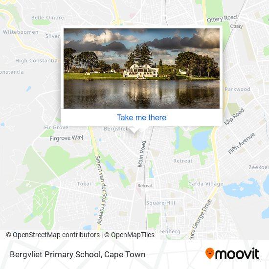 Bergvliet Primary School map