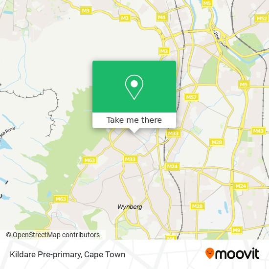Kildare Pre-primary map