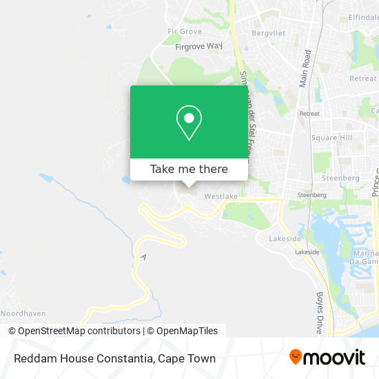 Reddam House Constantia map