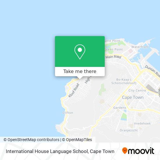 International House Language School map