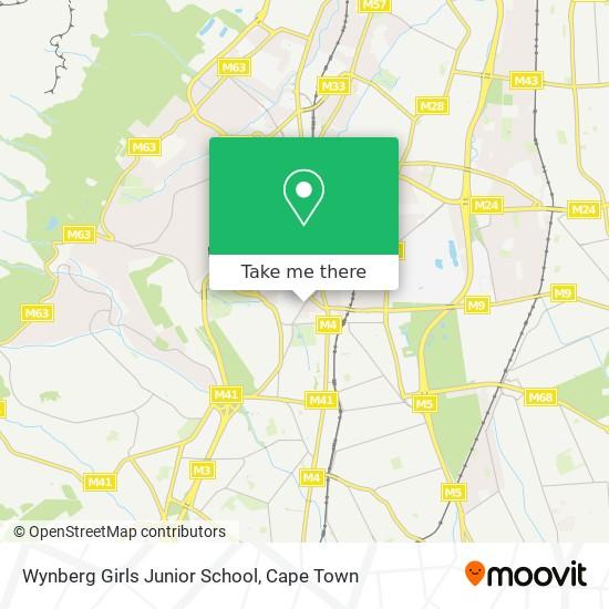 Wynberg Girls Junior School map