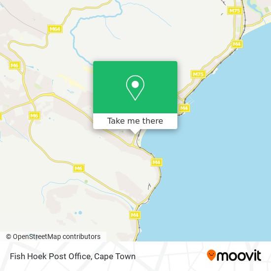 Fish Hoek Post Office map