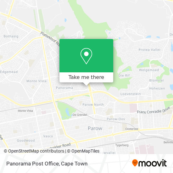 Panorama Post Office map