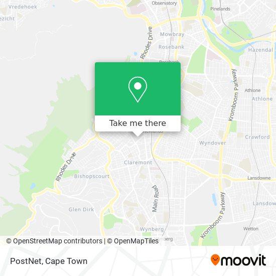 PostNet map