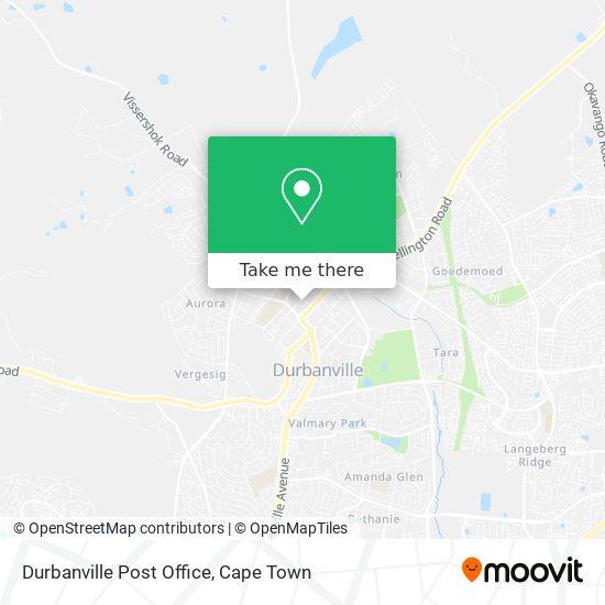 Durbanville Post Office map