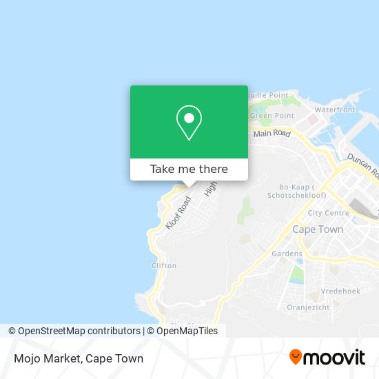Mojo Market map