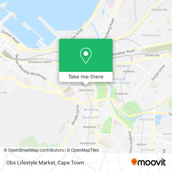 Obs Lifestyle Market map